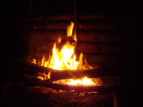 long log fire