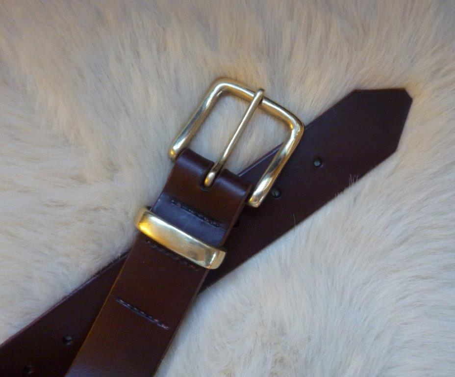 a leather belt the wilderness guide